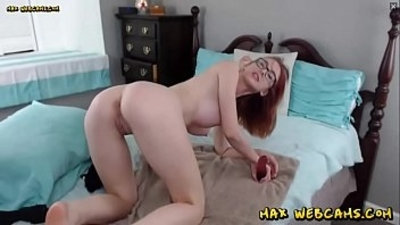 Best Redhead Camgirl Is A Deepthroat and Anal Slut