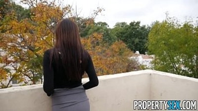 PropertySex Cheating on wife fucking with hot real estate agent