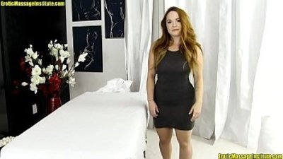 Sexy, Thick, Red head Gets Massaged, Fucked, and Squirts
