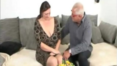 Old Man and German BBW