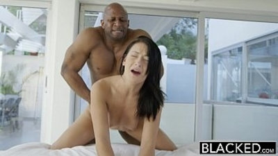 BLACKED Teen beauty tries Interracial anal sex