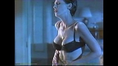 jamie lee curtis striptease in bra and panties